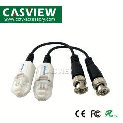1channel de passieve VideoResolutie Transmissie 400m van de Steun 1080P van de Schroef Balun Eind3MP 4MP 5MP van het Toezicht UTP van kabeltelevisie van Ce van 1 Paar Afstand