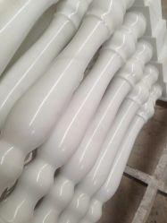 Natuursteen Pure White Marble Baluster Voor Indoor Decoration Building