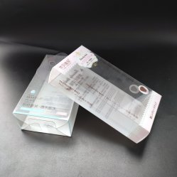 Hot Sale cosmétique boîte cadeau d'impression en plastique pliable Emballage
