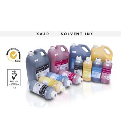 Xaar 128 Solvant d'encre pour imprimantes DGI X-300 avec 360/40Xaar 128 pl Tête d'impression