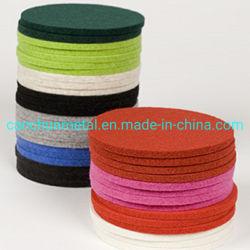 A resistência ao calor Eco-Friendly Material Placemat de feltro Coaster Definido