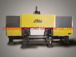 Staalconstructie productie H-balk CNC-boormachine met hoge snelheid 1200 x 600 mm