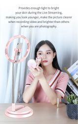 Selfie Selfie universal de la luz de flash LED Lámpara Anillo de actualizar el teléfono móvil para chica bonita retransmisión en directo el teléfono móvil de la luz de anillo de LED