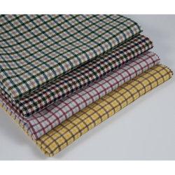 Comprobación de Gien clásico tejido de lana, pequeño patrón cuadriculado, elegancia, Moda