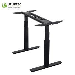 Die elektrischen Büro-Möbel sitzen, um Schreibtisch-Höhen-justierbaren Schreibtisch-Rahmen zu stehen
