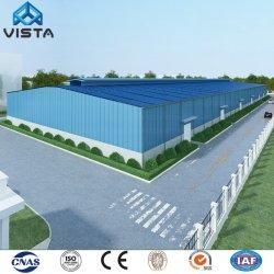 L'industrie Préfabriqué modulaire préfabriquée Atelier moderne fabriqué par effet de serre de l'entrepôt La conception des bâtiments en métal léger châssis en acier galvanisé Structure de construction
