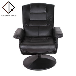 革のリクライニングソファの主任椅子の家具のカスタマイズされた異なった様式 フットスツール付き