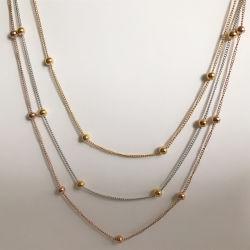 Mode RVS kant tussen de Bead Jewelry Design