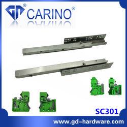 (SC301) نظام الإغلاق السلس كامل الامتداد /عداء منزلق التركيب/الدرج