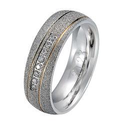 Manier 925 de Zilveren Ringen van de Minnaar van het Paar van de Ring Goud Geplateerde voor Mannen en Vrouwen