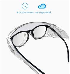 Lunettes anti brouillard Yeux Lunettes de protection de l'équipement PPE des lunettes de sécurité