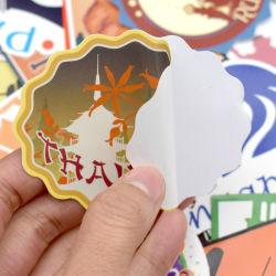 Etiquetas redondas Kraft artesanais das embalagens de papel autocolante para Candy Dragee Bag Caixa de oferta Saco de Embalagem Wedding graças autocolantes