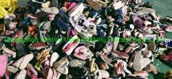 Продажи на заводе второй стороны обувь детей используется обувь детей школьного спорта обувь