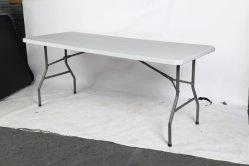 6FT 180 cm*74cm portátil churrascos Camping Plástico Piquenique mesas dobráveis