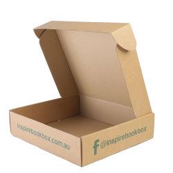 Commerce de gros Custom boîte en carton<br/> Mailer Boîte d'expédition en carton ondulé Vêtements Robe de l'emballage pour T-shirt en tissu Costume Mailer boîte cadeau