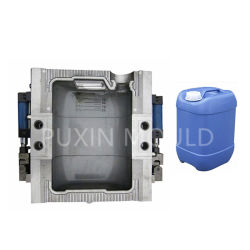 P20 718 스틸 알루미늄 압출 성형 몰딩 플라스틱 캐니스터 장난감 드럼 배럴 HDPE 병 블로우 금형 금형