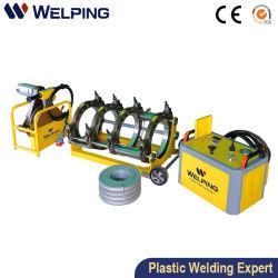 (90) لحام أنابيب HDPE بزاوية 110 إلى 315 مم من نوع الانابيب الهيدروليكية ماكينة/ماكينة لحام الأنابيب البلاستيكية/هندسة مياه الغاز/أداة لحام الأنابيب/مصنع الصين