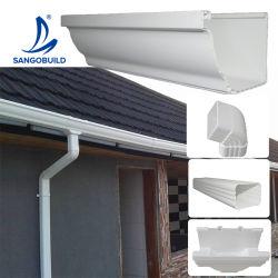 나이지리아 토고 가나 지붕재 플라스틱 PVC 물 비 지붕 배수구 배수 시스템