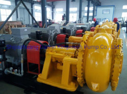 Marine Sand Mining 디젤 엔진 Dredger Dreidge Gravel Sand Pump
