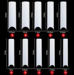 Alargar el tubo de XXL tipo francés falso uñas claro/blanco/Neutro Tips de uñas en las bolsas