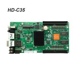 وحدة تحكم LED كاملة الألوان في الشاشة Huidu-C35/C35c Asyn LED