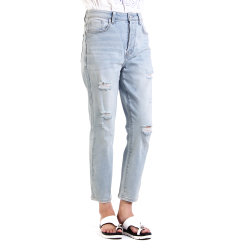 Мода дизайн высокого качества Curvy установите Super высокая женщина джинсы Джинсовые брюки