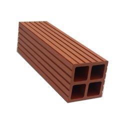 도매 고품질 정원 나무로 되는 플라스틱 합성물 WPC 담 포스트/기둥