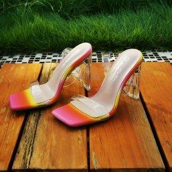 Sandales plates mode femmes jolies chaussures jelly pour femmes Chaussures de danse