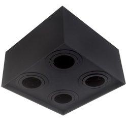 Alojamiento económico con casquillo GU10 de la luz de techo aluminio LED Lámpara de luz LED Downlight Spot
