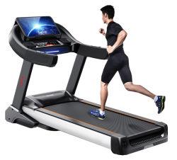 Ganas Fitness Gym Equipment Manual Treadills Home Use Running Machine مطحنة كهربائية تجارية مع شاشة LED