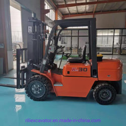 オプションの日本向けエンジンディーゼルフォークリフトトラック 2 トン 2.5 トン 3 Ton 3.5 Ton 4 Ton 5 Ton ディーゼルフォークリフト 価格