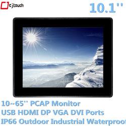 Touchscreen van de Monitor van de Aanraking van het open-Kader van Cjtouch 10.1inch Infrarode leiden van de Vertoning van Pcap Capacitieve