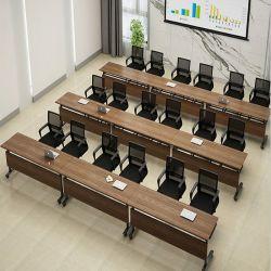 Mesa de Reuniones Ligera Ajustable Sala de Entrenamiento Escritorios Mesas y Sillas Apilables