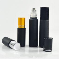 ステンレススチールロール付きパフュームボトルの表面 10ml ガラスロール