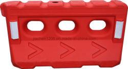 Design populares o tráfego de plástico Barreira de Segurança Rodoviária a barreira de tráfego com água