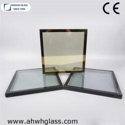 Meilleure isolation de verre / verre creux /Double vitrage en verre en aluminium