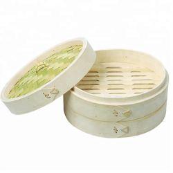 100% natural de qualidade elevada Melhor Preço 3 Tier vaporizador de bambu