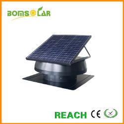 """14"""" 50W Ventilador de techo de paneles solares con motor IP68"""
