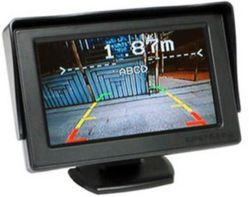 車のモニタ、後部ミラーLCD、表示画面、カメラLCDの表示、車LCDのダッシュのボードの表示のAV