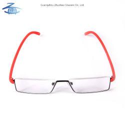 Optische Frame Van uitstekende kwaliteit van Eyewear van de Glazen van de Lezing van het Metaal van de Ontwerpen van de Douane van de fabriek het Nieuwe ModelTr90