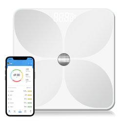 Scala Body Fat Scale Bluetooth ITO Scala digitale del bagno Per l'analisi del grasso corporeo