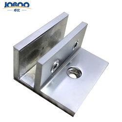 Qualitäts-klemmt feste kundenspezifische an der Wand befestigte ausgeglichenes Glas-Tür-Messingholding Klipp-Befestigungsteile mit den Beinen für Dusche fest