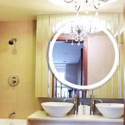 [هيغقوليتي] غرفة حمّام مرآة مع [لد] ضوء مع [س], [أول], [كل] شهادة