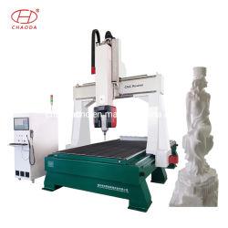 Mousse de 5 axes CNC pour machine à sculpter la statue de Sculpture de la publicité