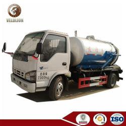 Isuzu 4000L 4cbm 4m3 de aguas residuales depósito de aspiración vacío carretilla