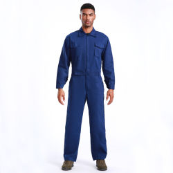 2021 Design Blue Coverall Heren's High Quality Workwear Labor Coverall