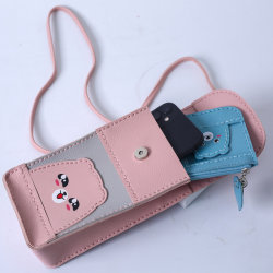 Werbegeschenk Frauen Wasserdichte Leder Handy Fashion Bag