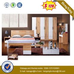 新しいデザインメラミンホテルのダブル・ベッドMDFの寝室の家具(UL-L601)
