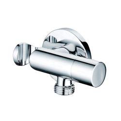 Entrada de agua de baño de latón de la válvula de control de ángulo
