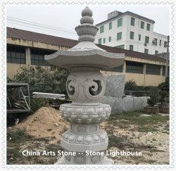 Granito pietra da carving faro per decorazione
